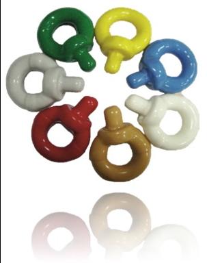 Enviropeel coloured shackles